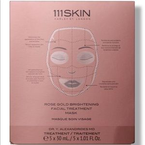 NEW 5 pack 111SKIN rose gold brightening masks
